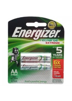 ENERGIZER AA RECHARGE 2-PACK ETXRM