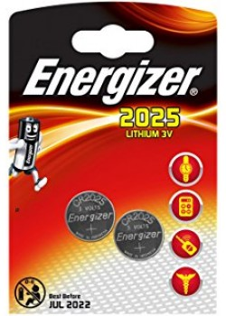 ENERGIZER CR 2025 2-pack