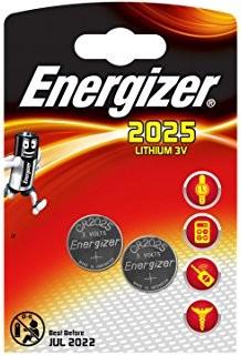 ENERGIZER CR 2025 2-pack
